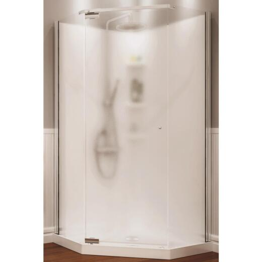 Maax 36 In. W. x 72 In. H. x 36 In. L. White Polystyrene Shower Stall
