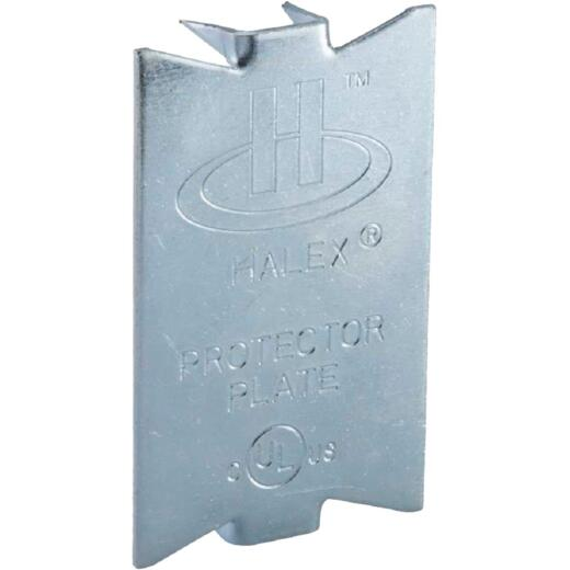Halex 2-1/2 In. x 1-1/2 In. Steel Cable Protector Plate (50-Pack)