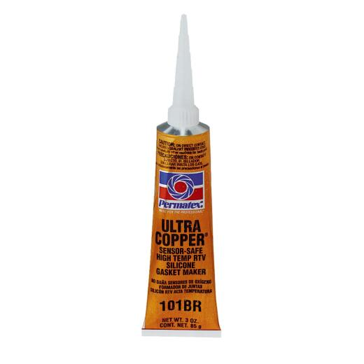 Permatex 3 Oz. Ultra Copper High-Temp RTV Silicone Gasket