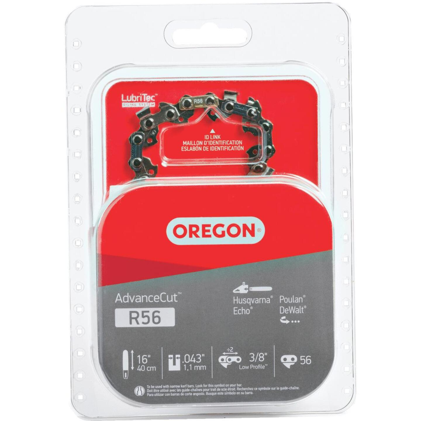 Oregon R56 16 In. Chainsaw Chain Image 1
