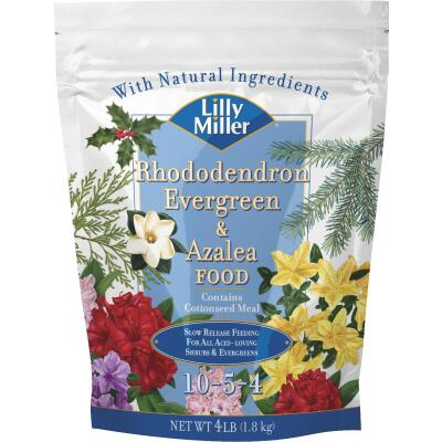 Lilly Miller 4 Lb. 10-5-4 Rhododendron, Evergreen, & Azalea Dry Plant Food