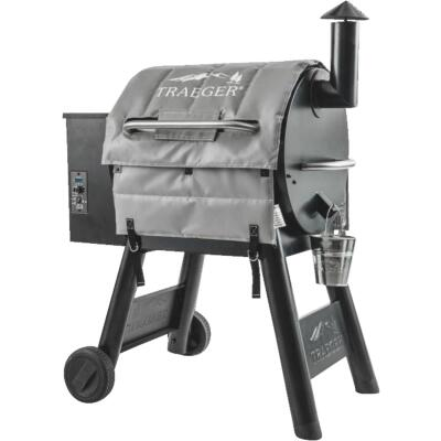 Traeger 24 In. Gray Polyester Insulated Blanket Grill Cover
